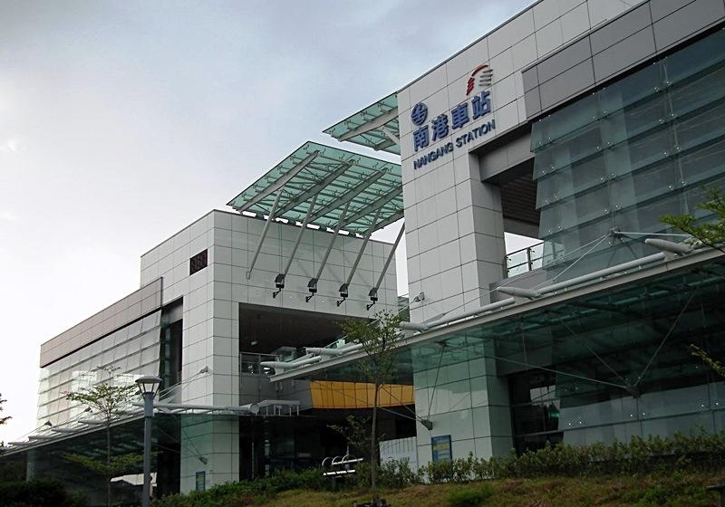 台湾南港车站大堂