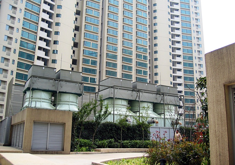 中国上海高级住宅项目