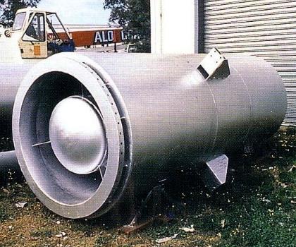圆筒型消声器