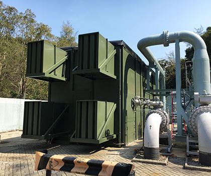 香港将军澳堆田气体处理设施